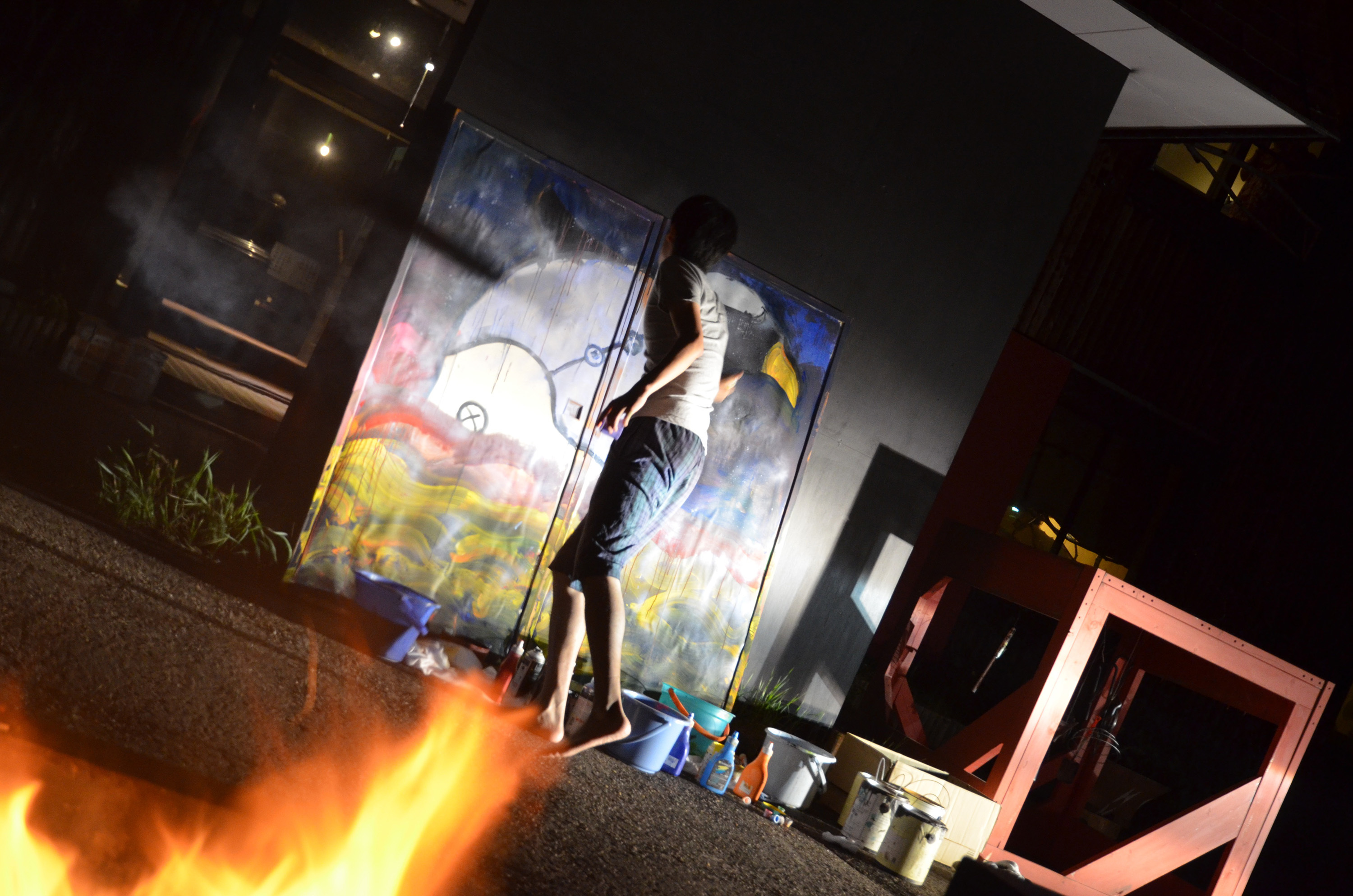 Kobayashi Daigo / Live Painting in the summer of 2015
